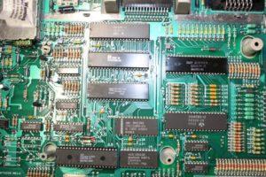 Atari 65xe Motherboard