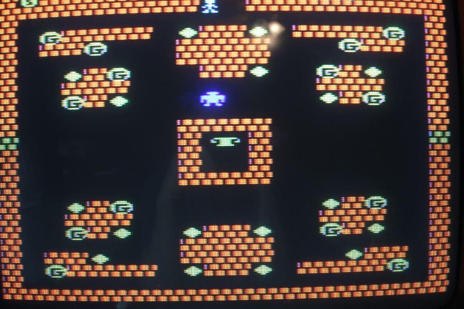 Atari Character Set Game
