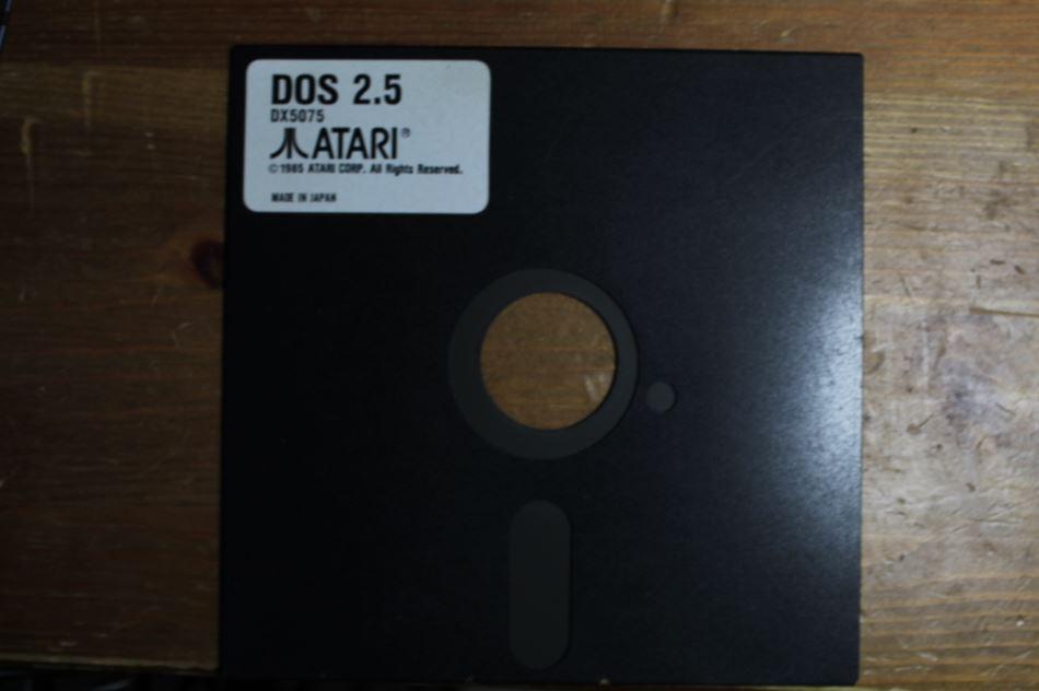 Atari disk drive diskette