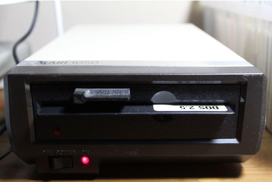 Atari diskette drive