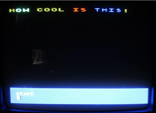 Atari Raster Example