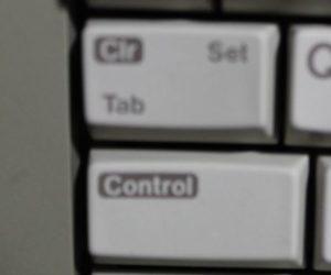 Atari 65xe Control Key