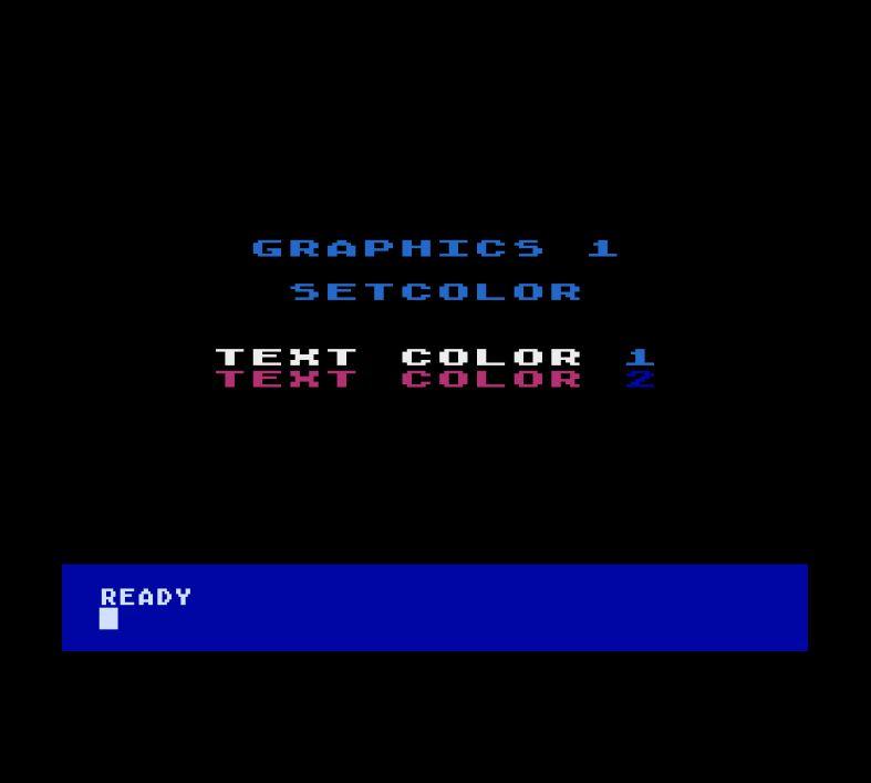 Atari Graphics 1