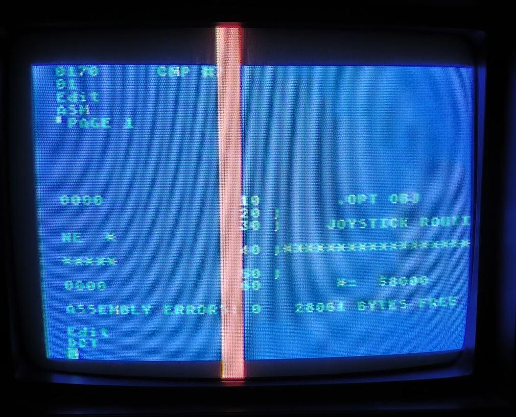 Atari Missiles Programming