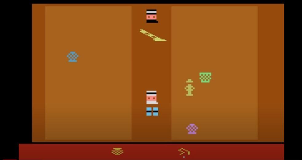 Raiders of the Lost Ark Atari 2600 version
