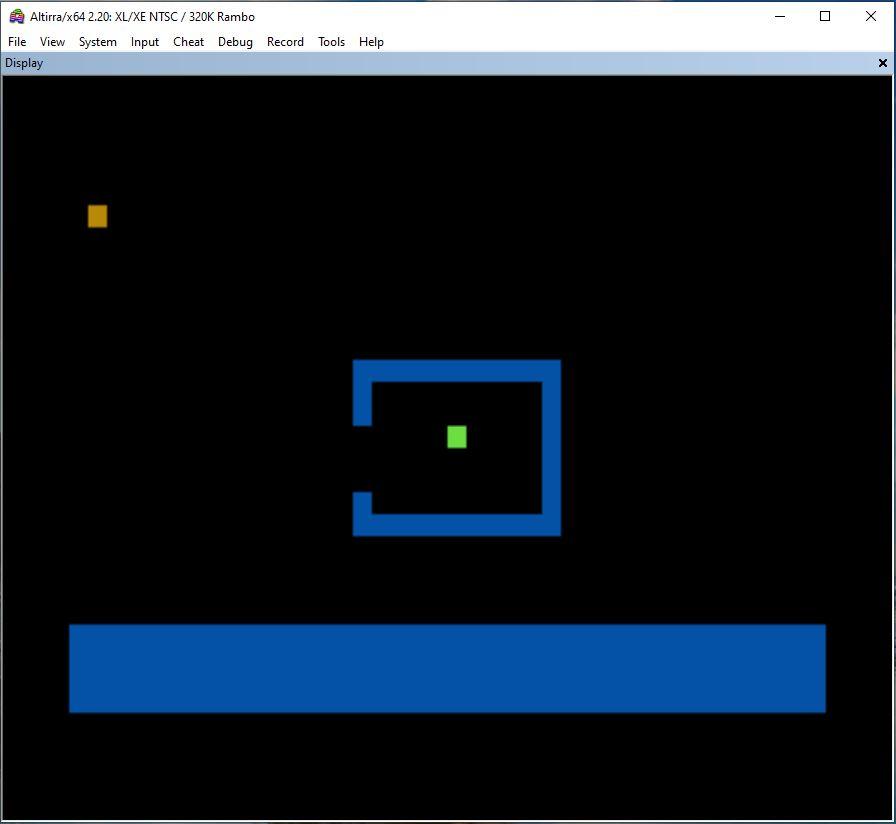 Atari 65xe Basic Locate