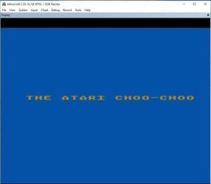 Atari train sound