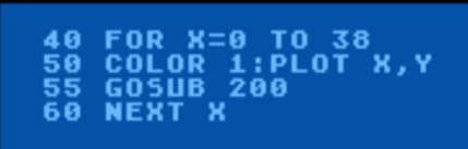 Atari 800 animation